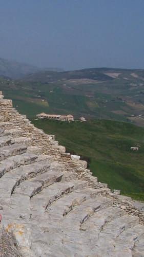 Segesta,teatro greco-romano -II sec.a.c. (3181 clic)