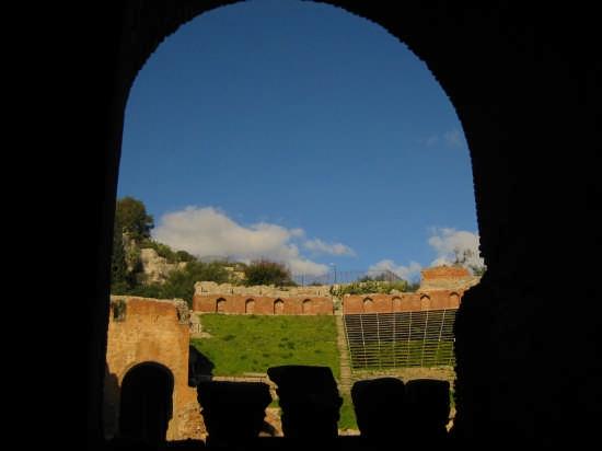 Taormina,teatro greco(III sec A.C) (3202 clic)