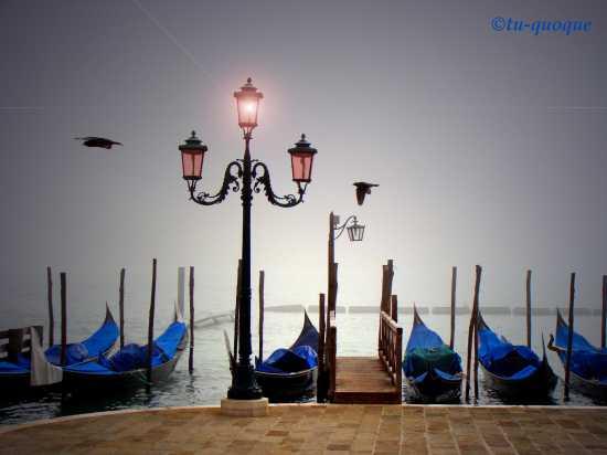 Venezia-la nebbia è ovunque (3999 clic)