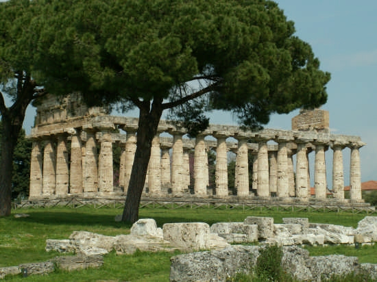 Tempio - PAESTUM - inserita il 27-Aug-08