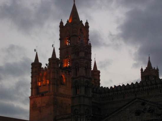 campanile cattedrale di palermo (3437 clic)
