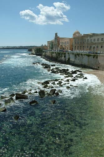 Lungomare Ortigia - Siracusa (4144 clic)