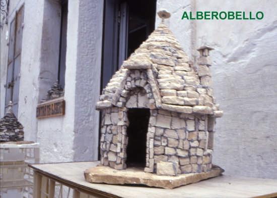 MODELLO DI TRULLO - Alberobello (1842 clic)