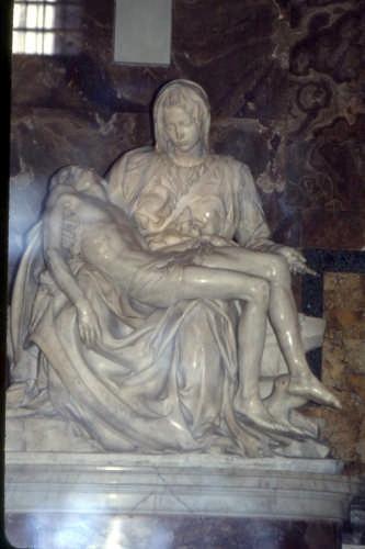 la pietà-MICHELANGELO - Roma (3498 clic)