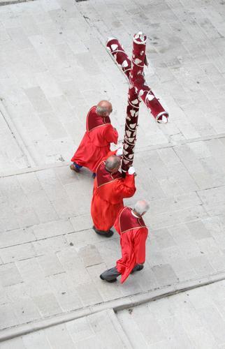 Processione della madonna del Carmine - Scanno (2224 clic)