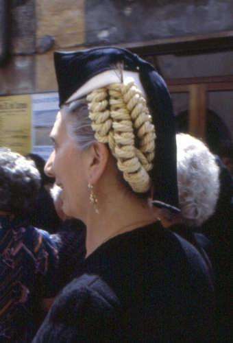 abito vestivo - Scanno (1983 clic)