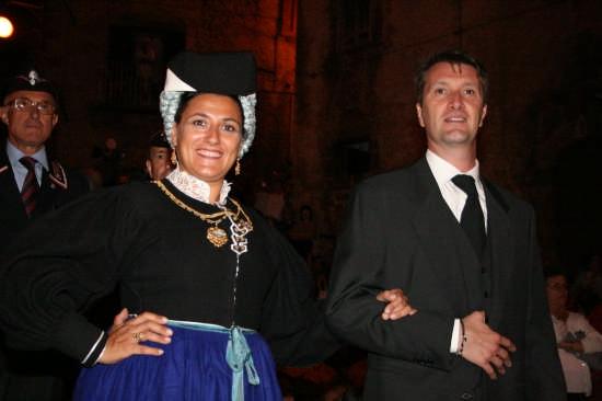 costume scannese festivo - Scanno (3617 clic)