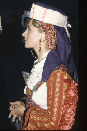 COSTUME SCANNESE FESTIVO - Scanno (2523 clic)