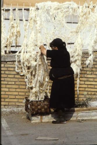 c'era una volta la lana......... - Scanno (2313 clic)