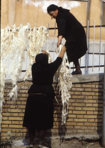 c'era una volta la lana......... - Scanno (1992 clic)