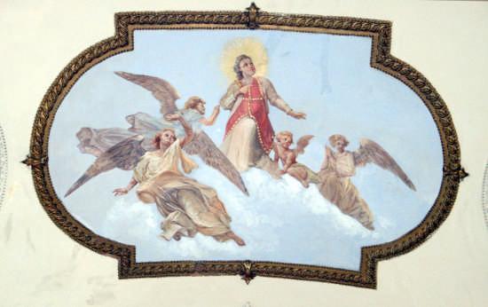 santo stefano vola in cielo-chiesa madre - Trinitapoli (1422 clic)