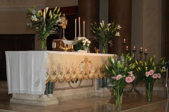 altare centrale-chiesa madre - Trinitapoli (1310 clic)