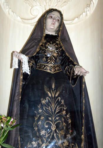 chiesa madre-madonna Addolorata - TRINITAPOLI - inserita il 24-Apr-09