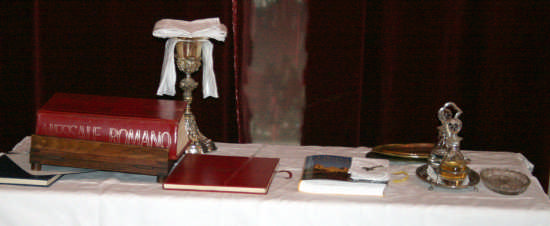 CHIESA MADRE-prima della messa - Trinitapoli (1170 clic)