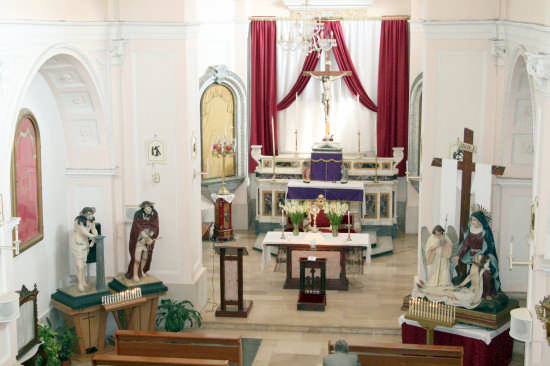chiesa di S.ANNA XIXsecolo-settimana santa - TRINITAPOLI - inserita il 18-Apr-09