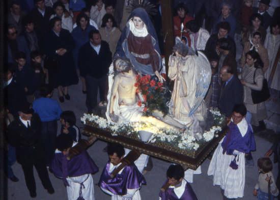 trinitapoli- venerdi santo- LA pieta' - TRINITAPOLI - inserita il 17-Sep-08