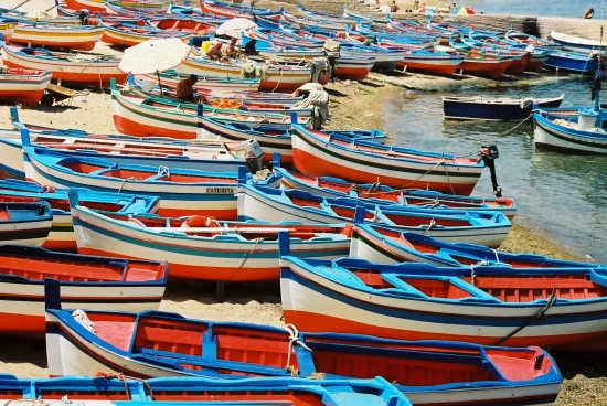 Aspra : marea di barche (4834 clic)