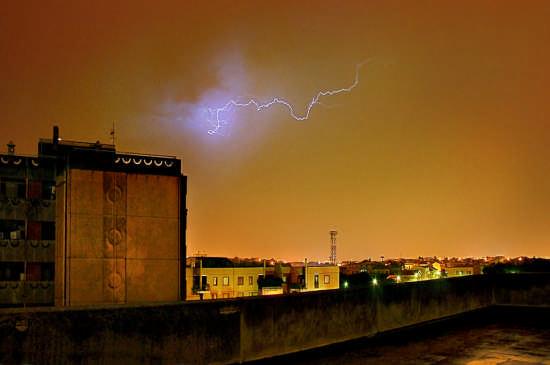 temporale su Cagliari (3855 clic)