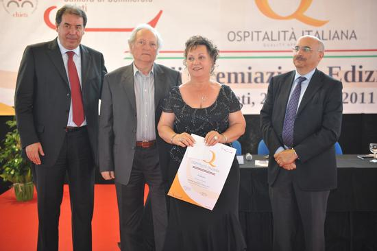 Riconoscimento Ospitalità Italiana 2011 - Carpineto sinello (2397 clic)