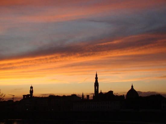 Un tramonto da sogno - Firenze (2310 clic)