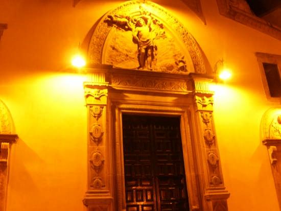 Portale chiesa San Sebastiano - Mistretta (3182 clic)