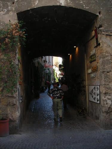 Viuzza di Orvieto (2386 clic)