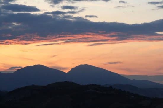 Tramonto - Atri (1712 clic)