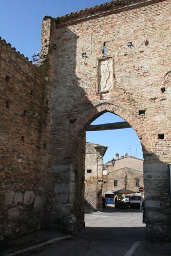 Porta San Domenico - Atri (2433 clic)