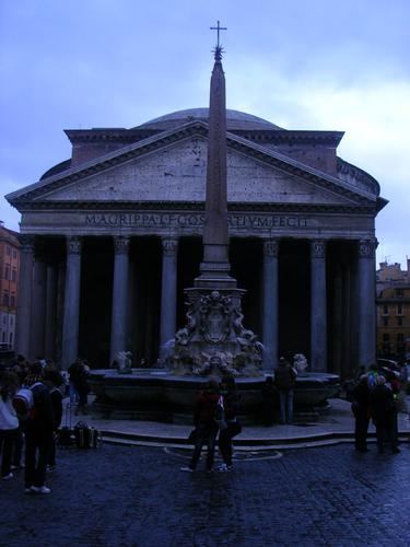 il Panteon....... - ROMA - inserita il 01-Dec-10