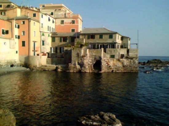 Boccadasse: ristorante Santa Schiara....storico - Genova (6099 clic)