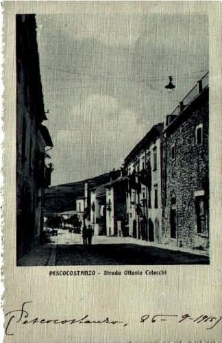 Via Ottavio Colecchi - Pescocostanzo (6699 clic)