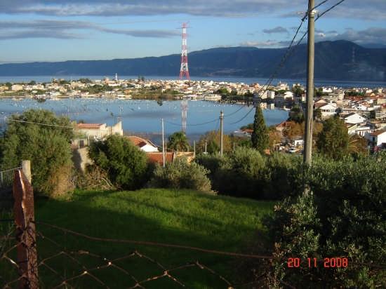 Vista sullo stretto - Ganzirri (3820 clic)