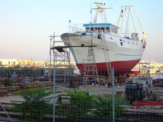 Cantieri navali - Manfredonia (4446 clic)
