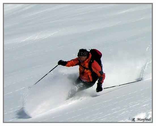 Rientro polveroso  - Carrara (2458 clic)