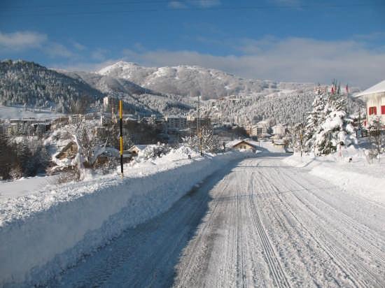 Roccaraso paesaggio. - ROCCARASO - inserita il 23-Dec-08