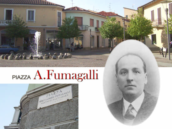 Piazza Fumagalli - Bellusco (2274 clic)