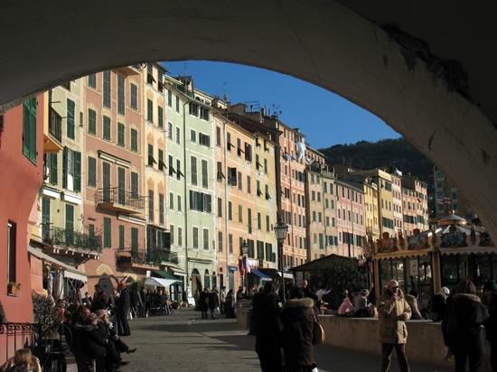 I palazzi sul mare - Camogli (4803 clic)
