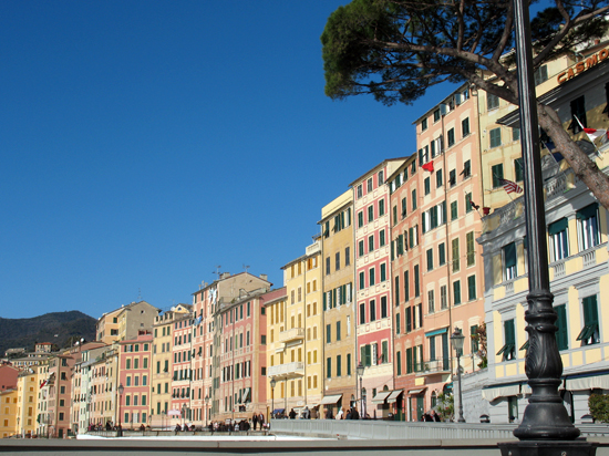 I palazzi sul mare - Camogli (4459 clic)