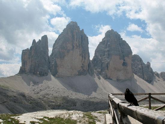 Le tre cime di Lavaredo (2779 clic)