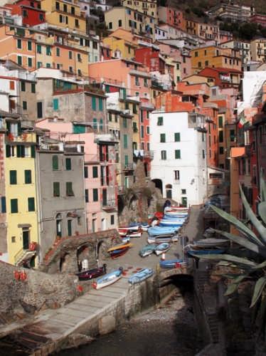 Il porticciolo di Riomaggiore (3811 clic)