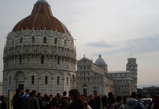 Piazza dei Miracoli - Pisa (2117 clic)