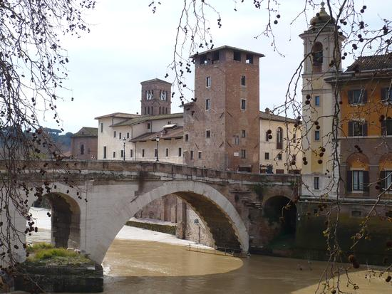 Isola Tiberina - Roma (1130 clic)