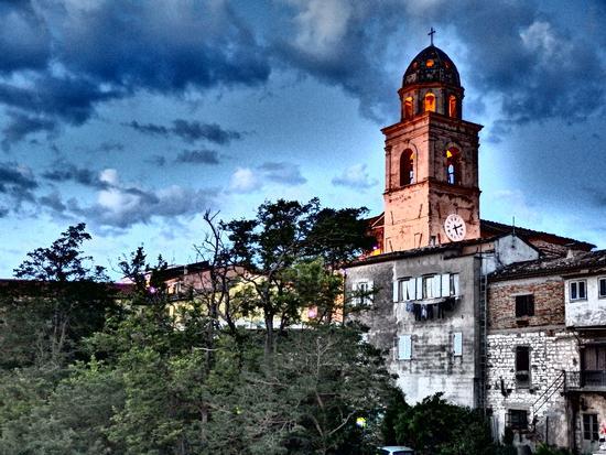 Il campanile all'alba... - Sirolo (1042 clic)