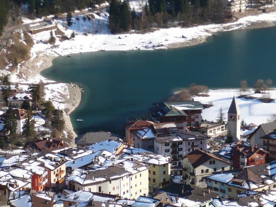 Panorama dalla bidonvia - Molveno (1150 clic)