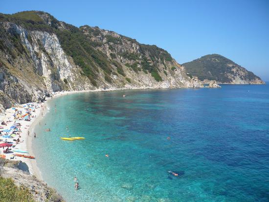 Spiaggia di Sansone - Isola d'elba (1208 clic)