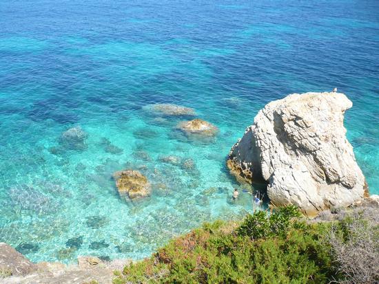 Spiaggia di Sansone - Isola d'elba (1219 clic)