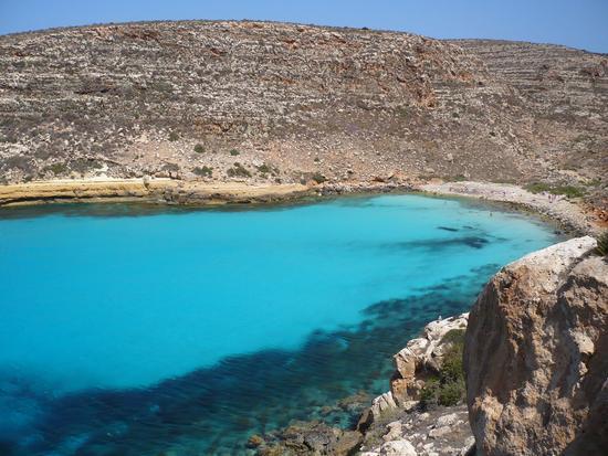 Cala Pulcino vista dal sentiero panoramico - Lampedusa (4936 clic)