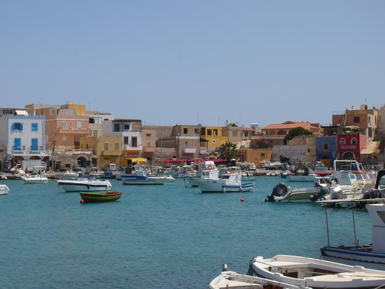 Il porto vecchio - Lampedusa (5589 clic)