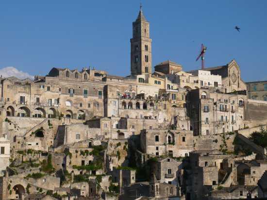 Veduta sul Sasso Barisano - Matera (3010 clic)