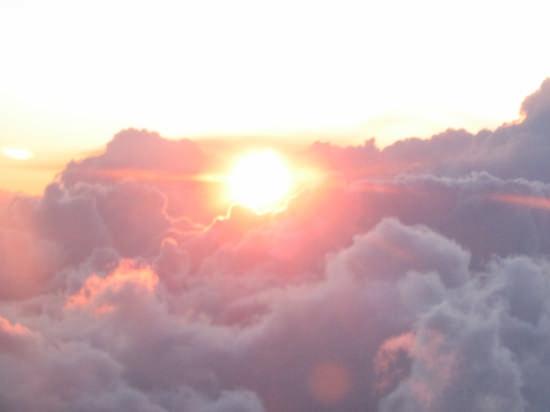Tra le nuvole... - Fiumicino (4807 clic)